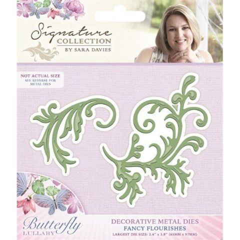 Sara Signature Butterfly Lullaby Collection - Fancy Flourishes Die